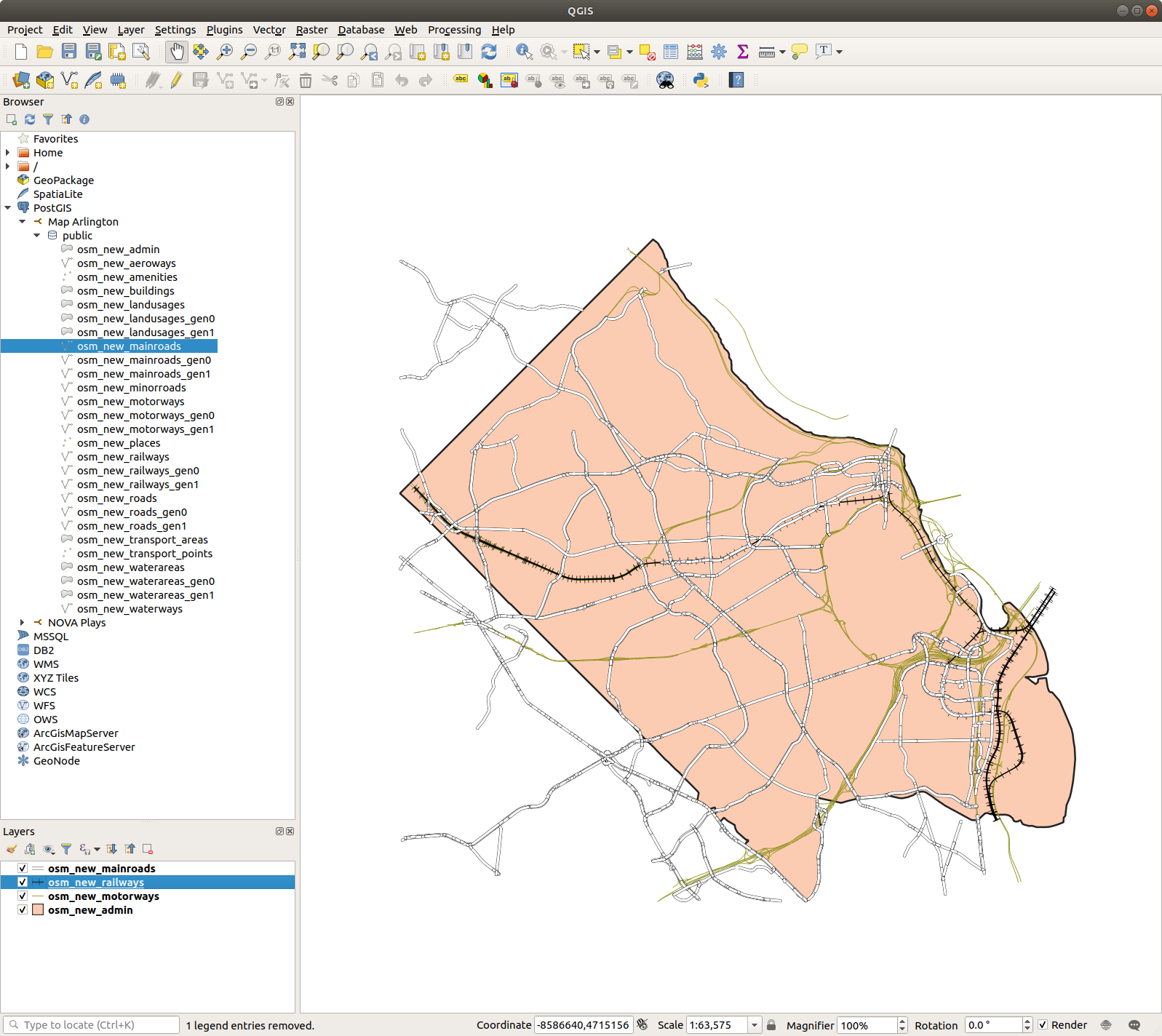 Map Arlington 1: Extracting OSM Data for a Localized Map