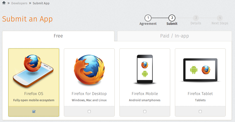 4  Submitting your Application to the Marketplace — Firefox