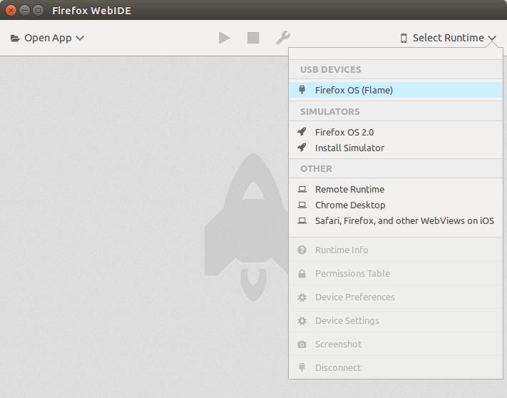 3  Working with the WebIDE — Firefox OS App Development Tutorial 2nd